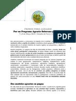 Documento Foro Agrario