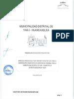 BASES CAS N° 01-2019 MUNICIPALIDAD DISTRITAL DE YAULI
