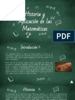 Historia y Evolución de Las Matematicas