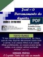 JOEL - O DERRAMAR DO ESPÍRITO