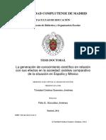La generación de conocimiento científico en relación con sus efectos en la sociedad .pdf
