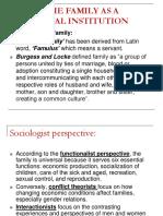 11 - Social institutions- - family.ppt