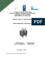 Manual de Transformadores Monofasicos