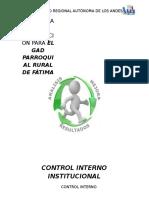 CRONOGRAMA DEL CONTROL INTERNO DEL PROYECTO DE VINCULACIÓN.docx