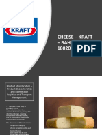 Supply Chain- Kraft Cheese