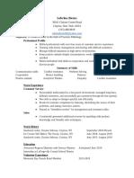skills based resume - google drive