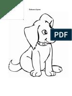 Colorear El Perro