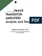 Microwave Transistor Amplifier Gonzales