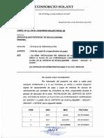 Carta Sacsay - Comprobantes de Pago
