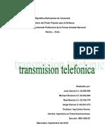 Transmision Telefonica