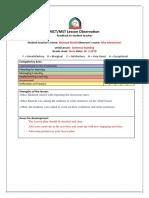 observation feedback-khlood khalid-2nd-26-3-2019    1