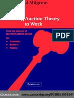 Putting Auction Theory to Work - 2004 - 1era edición - Milgrom.pdf