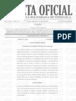 Gaceta Oficia Extraordinaria N° 6.450