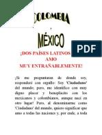 Colombia y Mexico