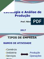Aula Estratégia e Analise de Produção Atual