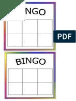 Bingos Sencillos