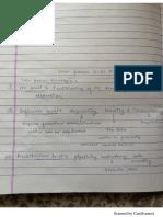 End Sem Class Notes