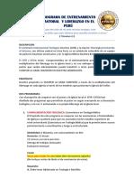 Entrenamiento Pastoral y Del Liderazgo Peru