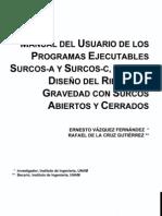 Ci-6 Manual Del Usuario de Los Programas Surcos-A
