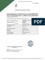 Certificado de Anotacion en El Registro