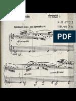 Paul Ben Haim 5 Pezzi Per Pianoforte Op. 34