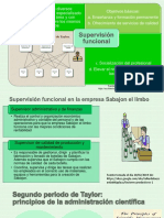 Supervisión Funcional y Planeacion