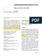 Temporal processing in ADHD