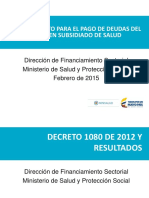 Presentacion Decreto 058 de 2015