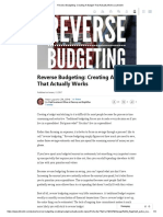 Reverse Budgeting_ Creating a Budget That Actually Works _ LinkedIn