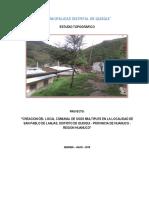 Levantamiento Tpografico San Pablo de Lanjas