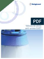 BELGICAST Válvula de Alivio Anti-Ariete DJET