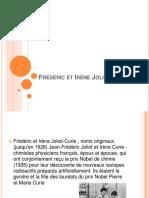Frederic Et Irene Joliot-Curie