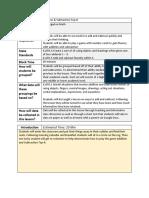 filled-in blended lesson plan template deasialinnen