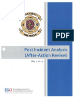 Polk County Fire Rescue post-incident analysis