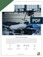 DJI Matrice 200 Catalogo