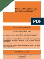 PRESENTACIÓN de LA LEY 99 de 1993