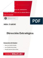 Bolivia Trabajo Final Direccion Estrategica
