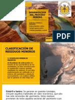 Desperdicios Del Proceso Minero