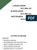 England Culture