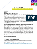SIngapore Malaysia Package details.docx