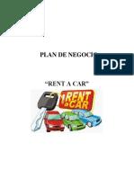 Plan de Negocio Alquiler de Vehiculos