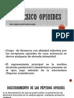 ANALGÉSICO OPIOIDES