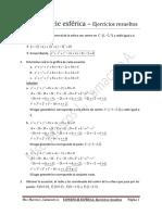 La superficie esférica - Ejercicios.pdf