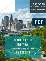 Hartford InsurTech Hub - Demo Day 2019 Overview