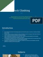 kine 326 rock climbing study