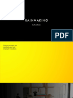 Rainmaking Culturebook