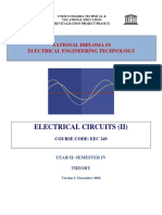 Eec 249 Electric Circuit 2 Theory Unesco
