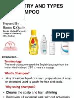 Chemistry of Shampoos