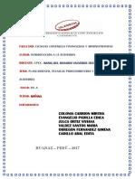 Actividad Nº 13 Informe de Trabajo Colaborativo II Unidad AUDITORIA