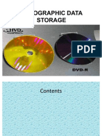 Holographic Data Storage